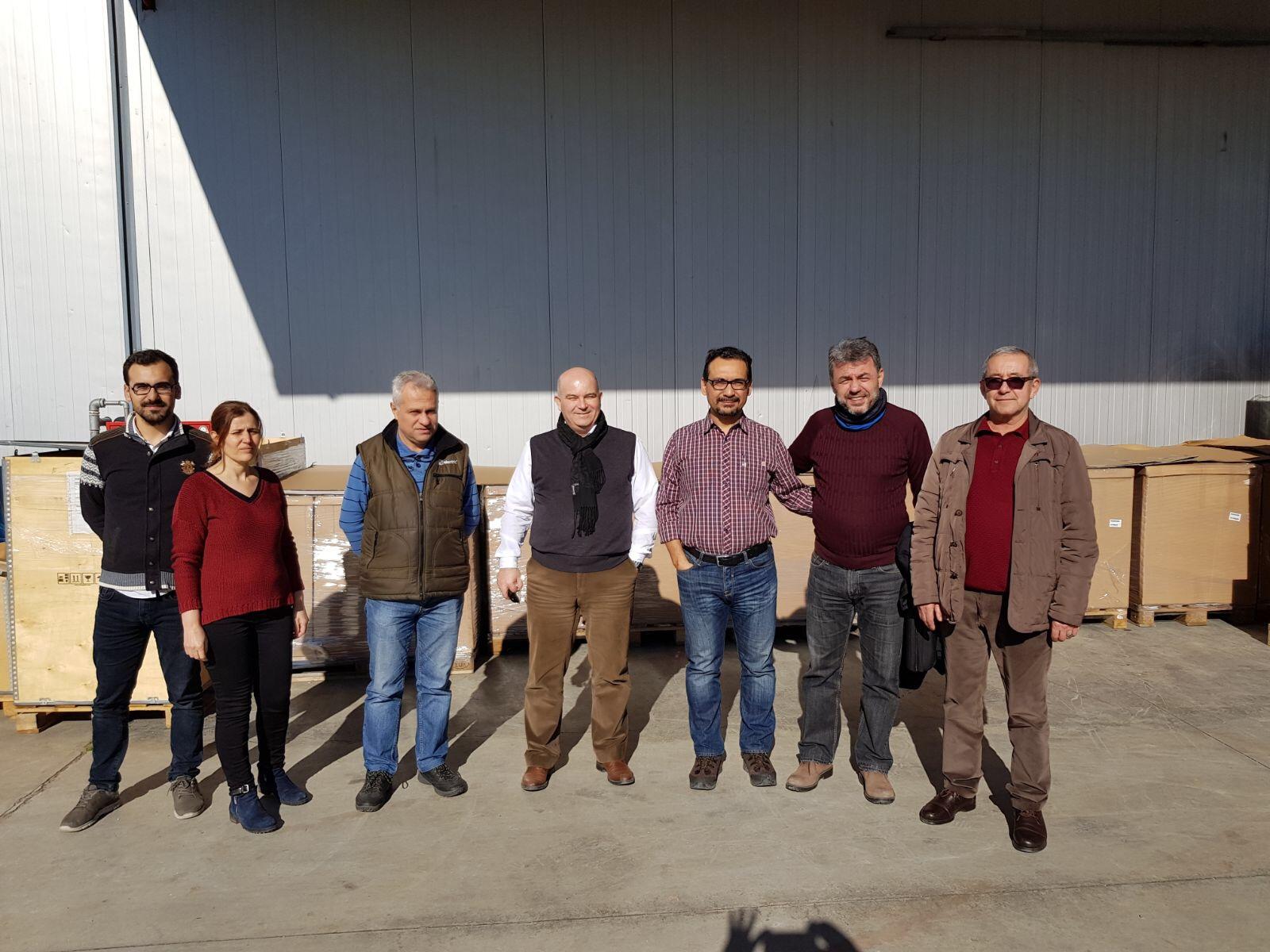 IMECO TP Electric Fabrika Tesisi tasarim projesini basari ile bitirdi