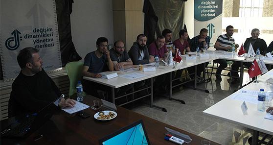 Gezer Terlik (Bolu, Istanbul), Sarteks Tekstil (Luleburgaz), Ercal Grup (Samsun) Performanslarini Artirmaya yonelik egitimlerimizi surduruyoruz (Degisim Dinamikleri ile birlikte)
